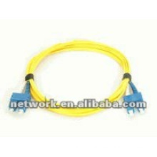 SC-SC Single mode Duplex fiber optic patch cord 1 Meter