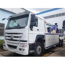 Camión de remolque de camión de auxilio pesado 6x4 HOWO