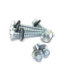 Hex Head Self Drilling Screws  with EPDM Washer DIN 7504