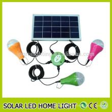 Niedriger Preis hohe Helligkeit led solar indoor Licht, solar led Innenbeleuchtung