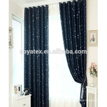 black-out shower window curtain