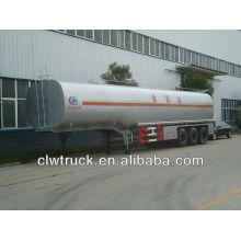 44000L reboque reboque de combustível, 3 axis reboque cisterna de combustível