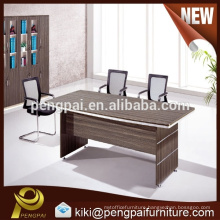 Small oblong conference table