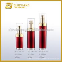Frasco de crema de acrílico de 15ml / 30ml / 60ml / botella, frasco / botella poner crema redondos de acrílico