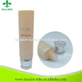 Dia50mm hand cream empty clear plastic packaging tube