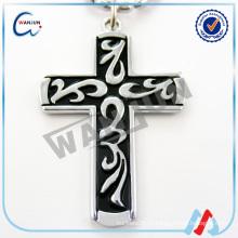 Крест собака тег, нержавеющая сталь крест собака тег, дешевый сувенирный тег собаки