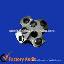 Custom carbon steel six hole drill bit for mine