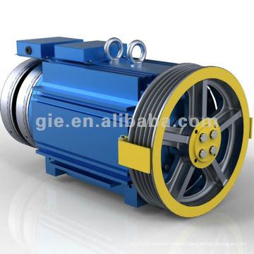 320kg 1.75m / s Íman Permanente Motor Elevador Synchronous Gearless