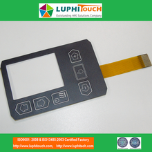 Butang Rim Embossed Copper FPC Circuit Membrane Switch