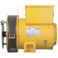 Yellow Three Phase 4 Pole Synchronous Generator