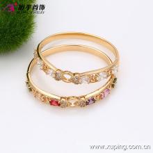 Китай Оптовая мода 18k Xuping позолоченные элегантный циркон Браслет (51317)