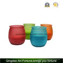 Vela de citronela vela Jar jardim lanterna para a decoração exterior e jardim