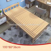 Las camas al por mayor de la cama de madera diseñan la cama de madera