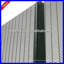 Fábrica 358 alta seguridad soldada alambre malla de valla