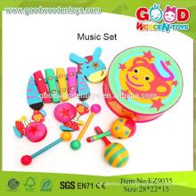 2015 Прекрасные безопасные музыкальные игрушки, хорошие наборы для новорожденных на продажу, музыкальные наборы инструментов