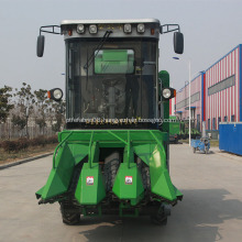 corn combine harvester how it works uses