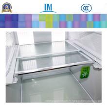 Verre d'appareil de sécurité transparent trempé supérieur pour réfrigérateur