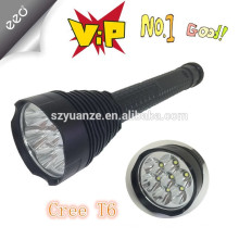 7X XM-L T6 5-Mode 3500 Lumen LED Taschenlampe (3 x 26650/3 x 18650)
