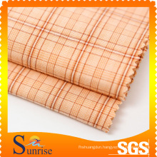 124GSM Cotton and Nylon Yarn Dyed Fabric For Clothing