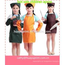 Lovely crianças han edição impermeável avental, manguito, chamar a roupa, babador bebê, vestidos vestido de jantar, cuff avental das crianças