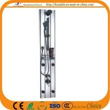 Panel de ducha de aleación de aluminio con estante (YP-006)