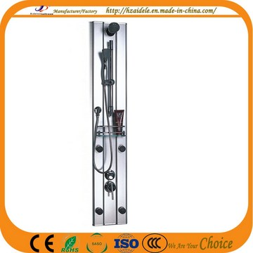 Aluminum Alloy Shower Panel with Shelf (YP-006)