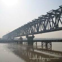 Wz-B027 Steel Structure Pedestrian Bridge Design