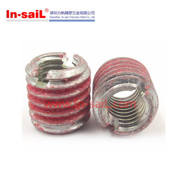 Self Tapping Thread Insert Nut Rubber Coating for Light Alloy