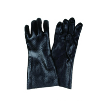 Interlock Liner Industrial Work Glove with Double PVC Dipped
