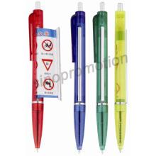 Plástico caneta promocional Banner (GP2412)