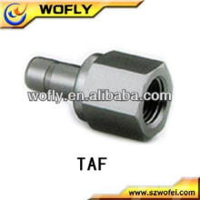Tubo caliente para tubo Adaptadores de tubo de acero inoxidable para tubos accesorios para tubos