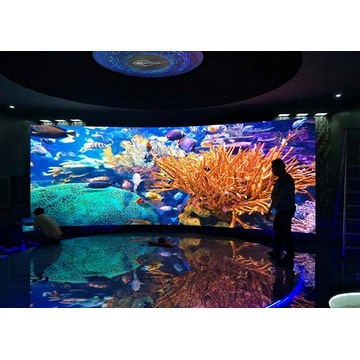 High Gray Scale Indoor Curved LED Display