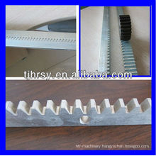 Steel(zinc plated) gear racks with mounting holes