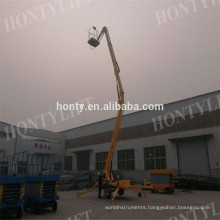 Best price mobile hydraulic man lift 18m articulated boom lift  articulated boom lift introduction  articulated boom lift : Structure  articulated boom lift : working range  articulated boom lift paremeters:  articulated boom lift'sadvantages: