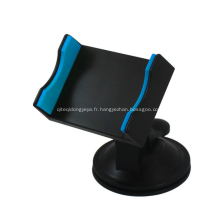 Support de téléphone promotionnel en ABS de couleur noire avec ventouse