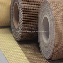 High density industrial fiber-glass mesh belt