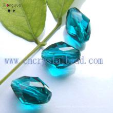 Blau hochwertige facettierte Schmuck Crystal Bead