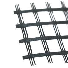 civil engineering bitumen reinforcing fiberglass Geogrid 120-30kN