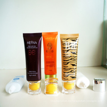 Tubo de plástico para Bb Crema / Facial Cleanser loción de bloque del sol / crema para manos