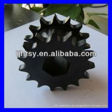 Roda dentada de duas fileiras de óxido preto