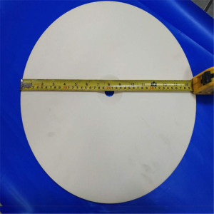 Large Diameter Alumina Ceramic Round Liner / Disc