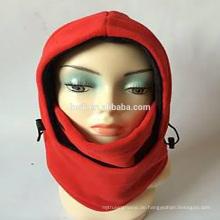 Winter Produkt 3D Modellierung Design 6in1 Fleece Winter Caps und Hüte Ski Gesicht Maske Balaclava