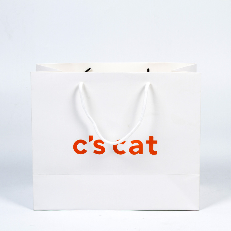 Various Paper Gift Shopping Bags