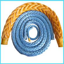 Trenza de fibra UHMWPE cuerda de la amarradura del filamento