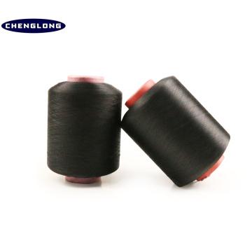 100% Hersteller in China dotierte 100% jungfräuliche Polyester Spinnkegel gefärbt Garn