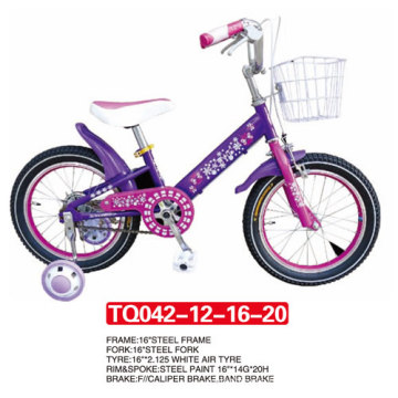 "New Style of Purple Color Kids Bicycle 12"" 14"" 16"" 20"""