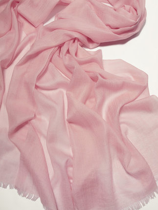 Solid cashmere pashmina -5