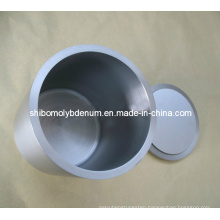 Pressed-Sintered Tungsten Crucibles with Cover