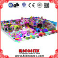 Candy House Theme Indoor Playground Equipment para niños
