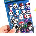 Forma personalizada promocional crescer no escuro Puffy Sticker
